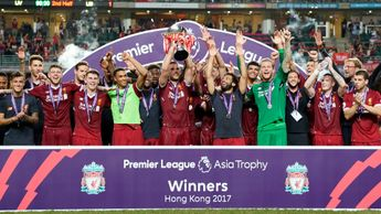 Liverpool win the Asia Trophy