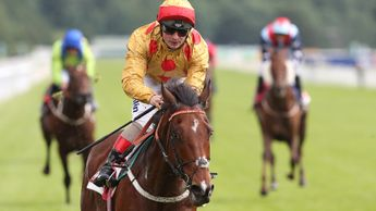 Andrea Atzeni wins aboard Gold Mount at York