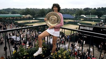 Virginia Wade: The last Briton to win the ladies' title at Wimbledon