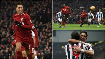 Celebrations for Liverpool, Man United and Newcastle