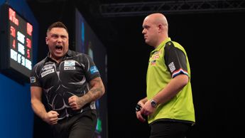 Gerwyn Price defeated Michael van Gerwen (Picture: Lawrence Lustig/PDC)