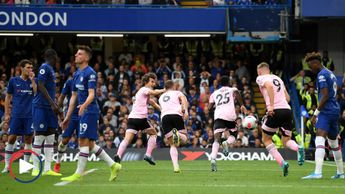 Scroll down to watch highlights of Chelsea's draw with Leicester
