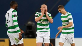 Scott Brown shows his frustration