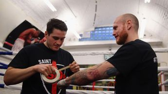McGuigan (L) helped Groves to a world title