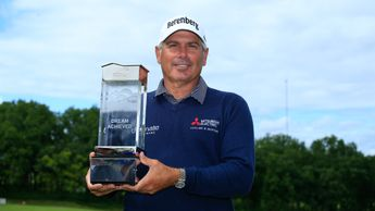 Fred Couples with the trophy