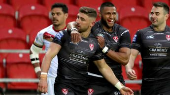 Tom Makinson and St Helens celebrate