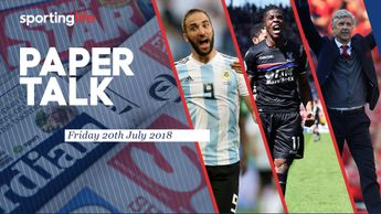 Football Papaer Talk includes Higuain, Zaha and Wenger