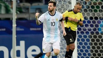 Lionel Messi scored a penalty in Argentina's draw with Paraguay