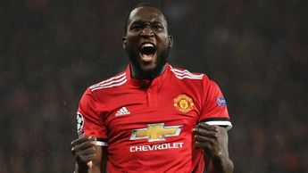 Romelu Lukaku celebrates after scoring against Basel