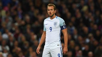Harry Kane has been named England's captain for the 2018 World Cup in Russia
