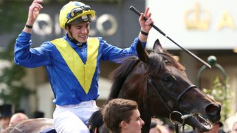 James Doyle celebrates on Poet's Word