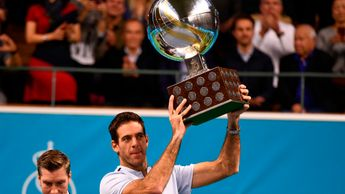 Del Potro will keep hold of the trophy