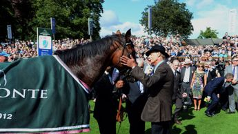Frankel and Sir Henry Cecil back in 2012