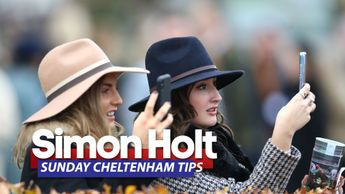 Simon Holt will be bidding to make more racegoers happy on Sunday