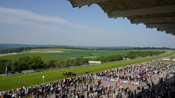The scene from Glorious Goodwood