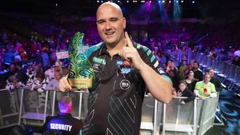 Celebration time for Rob Cross in Brisbane (PDC/Richard Walker)