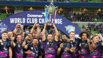 Celebration time for the Melbourne Storm