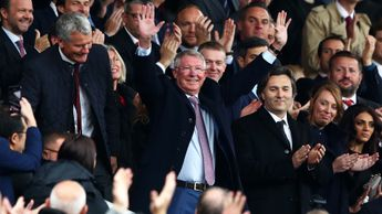 Sir Alex Ferguson returned to Old Trafford for the first time since brain surgery