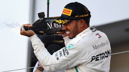 Lewis Hamilton is edging closer to the world title