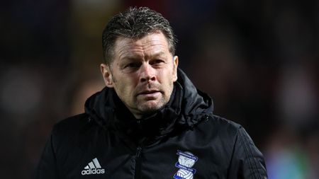 Steve Cotterill during his time at Birmingham