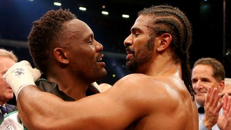 Dereck Chisora and David Haye - unlikely partnership