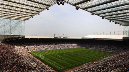 Newcastle' St James' Park