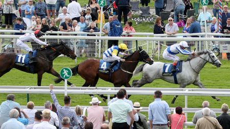 Thundering Blue wins well at York