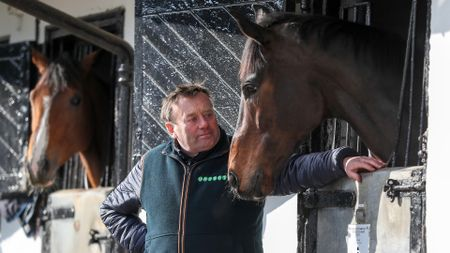 Nicky Henderson with Altior