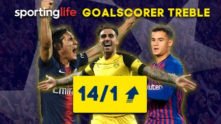 Sporting Life's Goalscorer Treble for Wednesday's Champions League games