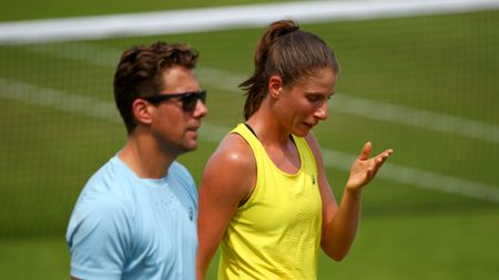 Konta has split from coach Fissette
