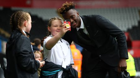 A selfie with Tammy Abraham