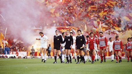 Liverpool took on Roma in Rome in the 1984 European Cup final