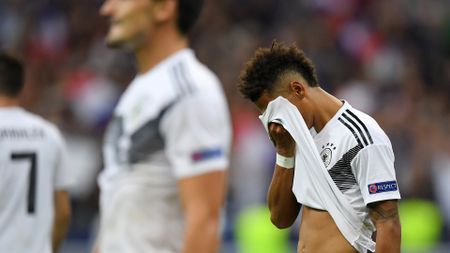Thilo Kehrer after Germany's defeat to France