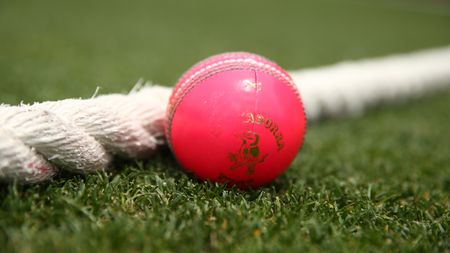 The pink cricket ball was introduced into the county game on Monday