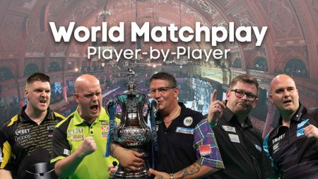 Just five of the 32 contenders bidding for World Matchplay glory