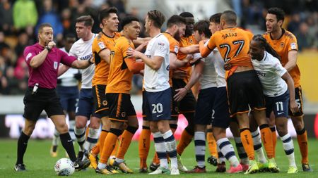 Wolves and Preston argue at Molineux