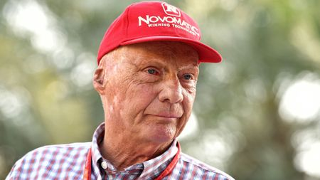 Mercedes chief Niki Lauda