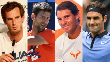Tennis' Big Four: Murray, Djokovic, Nadal and Federer