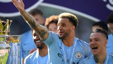 Kyle Walker moved to Manchester City from Spurs in 2017