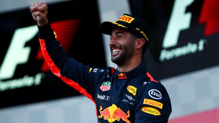 Daniel Ricciardo was the winner in Azerbaijan