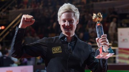 Neil Robertson took the title in Hong Kong