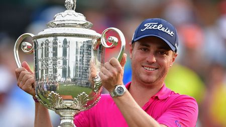 Our 50/1 winner Justin Thomas