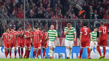Celebrations for Bayern Munich