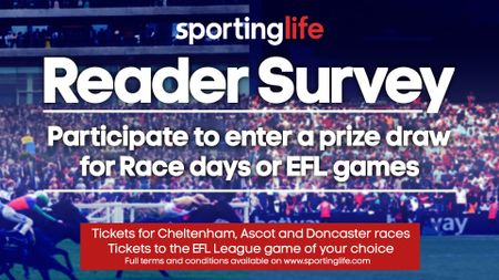 Take the Sporting Life survey for your chance to win tickets to race days or an EFL match