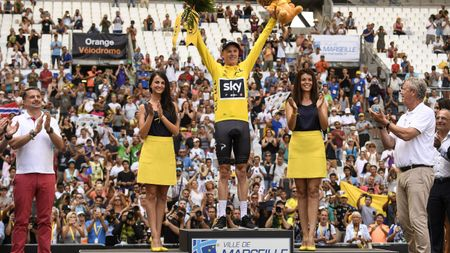 Chris Froome is on the brink of triumph