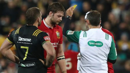 Iain Henderson given the yellow card