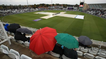 Rain at Trent Bridge