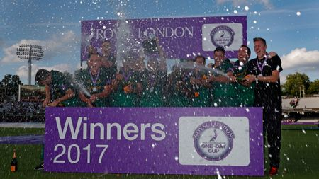 Nottinghamshire win the Royal London One-Day Cup