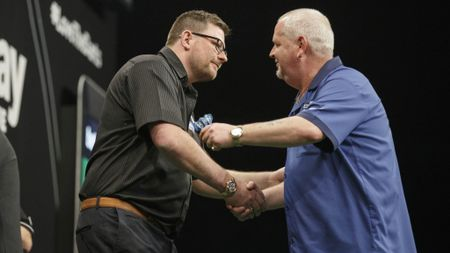 James Wade and Robert Thornton: Made history in 2014