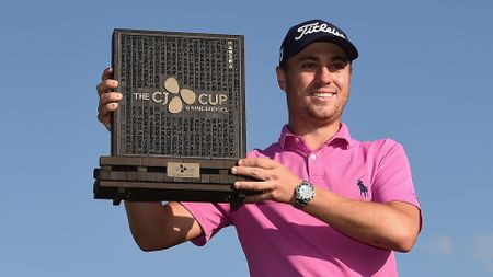 Justin Thomas: CJ Cup winner